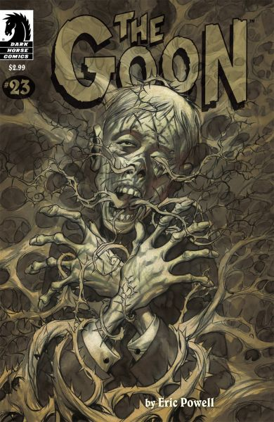 Comic book cover of The Goon #23