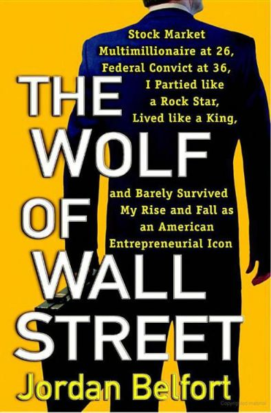 Book cover of The Wolf of Wall Street